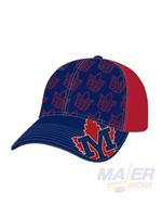 "Majer Hockey York Mills ""Multi"" Snapback Hat"
