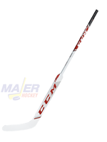 CCM Axis Pro Int Goalie Stick - White/Red