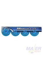 Bauer HI-LO Inline Skate Court Wheels 4PK 76MM/76A