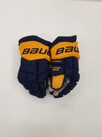 "Bauer Supreme MX3 15"" Pro Stock Hockey Gloves - Nashville Predators"