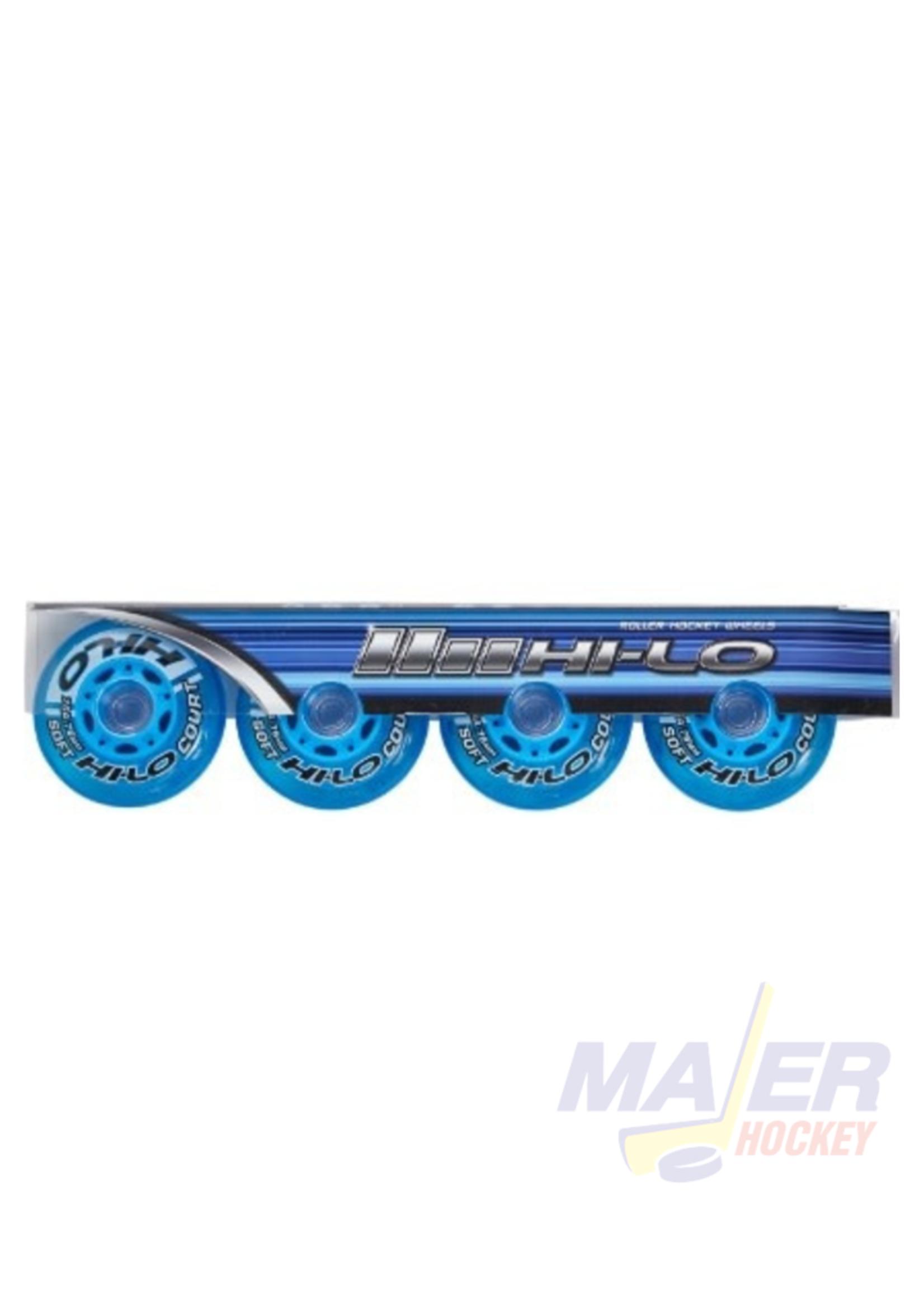 Bauer Hi-Lo Inline skate Court Wheels 59mm/76A 4PK