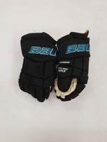 "Bauer Supreme MX3 15"" Pro Stock Hockey Gloves - San Jose Sharks"