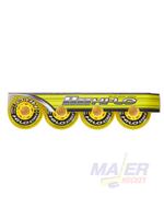 Bauer HI-LO Inline Skate Street Wheels76MM/82A 4 pk