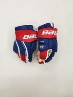 "Bauer Vapor 1X Lite  Pro 15"" Pro Stock Hockey Gloves - Montreal Canadiens Rinat Valiev"