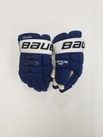 "Bauer Nexus 1N 14"" Pro Stock Hockey Gloves - Tampa Bay Lightning"