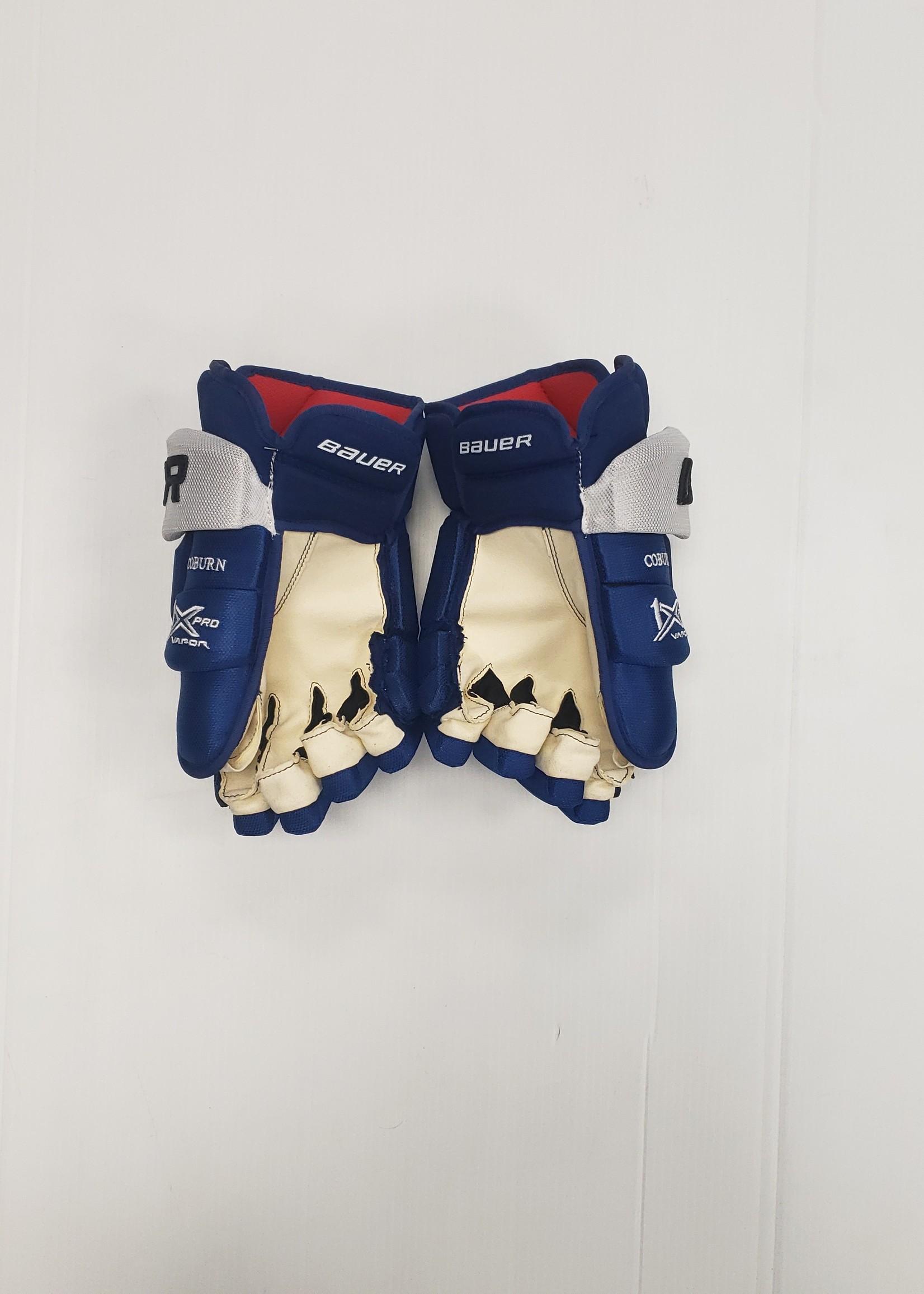 Bauer Vapor 1X Pro Lightning Pro Stock Hockey Gloves Coburn