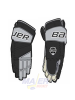 Bauer NYS Jr Hockey Glove