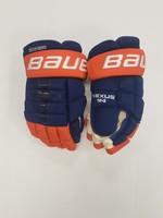Bauer Nexus 1N Pro Stock Hockey Gloves - New York Islanders Dennis Seidenberg