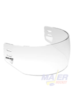 Bauer Pro Straight Visor Clear