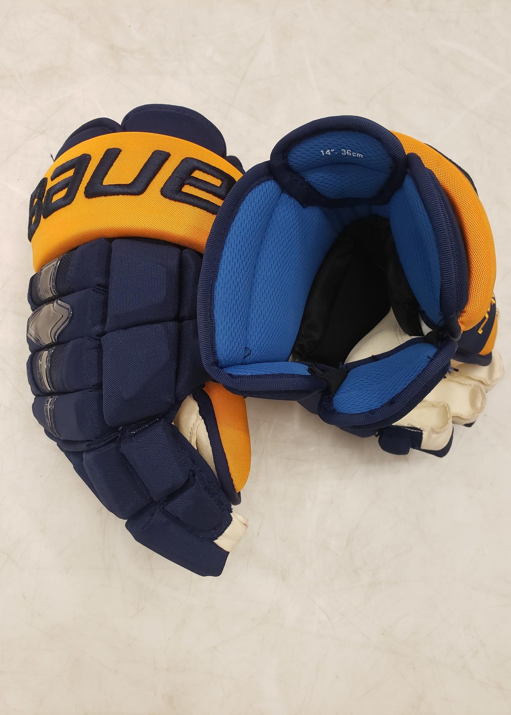 """Bauer Nexus 1N Nashville Pro Stock Gloves 14"""""""