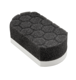 Chemical Guys Easy Grip Soft Hex-Logic Applicator Pad, White