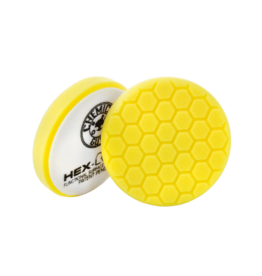 "Hex-Logic 5.5"" HEX-LOGIC PAD - YELLOW  5.5 ""  Cutting/Compounding Pad- Chemical Guys premium Pads (5.5""inch)"