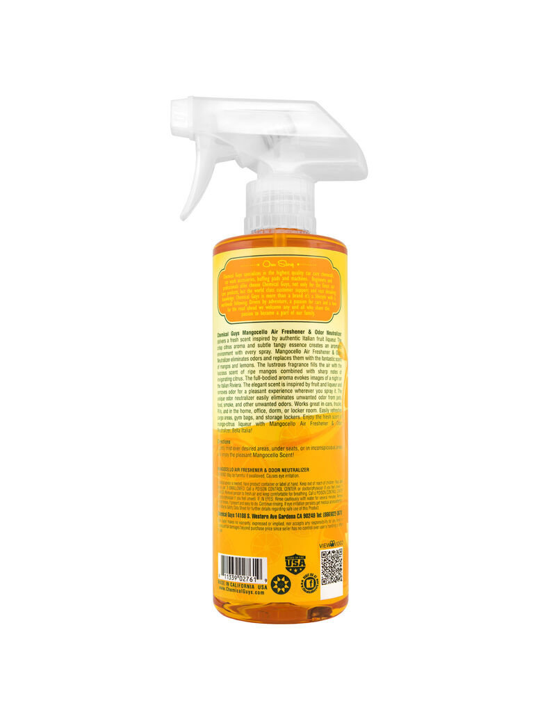 Chemical Guys Mangocello Air Freshener (16oz)