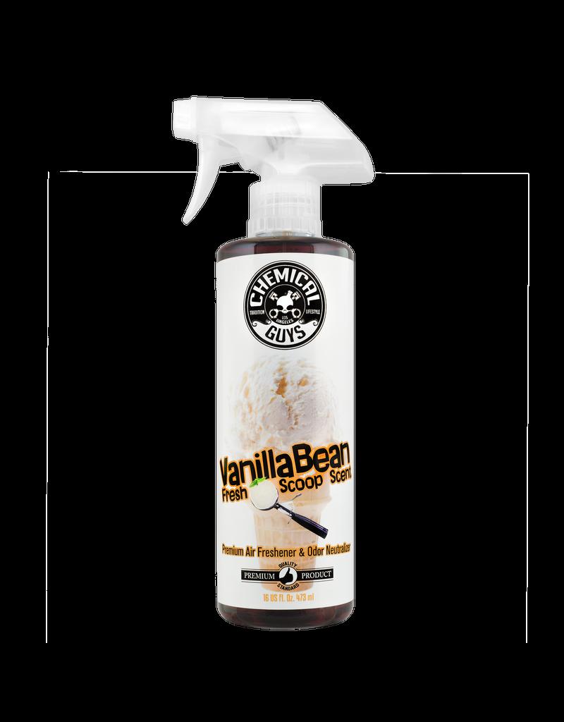 Chemical Guys Vanilla Bean Air Fresh Scoop Air Freshener (16oz)