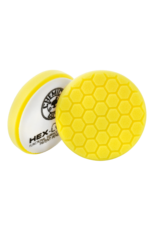 "Hex-Logic 6.5 "" HEX-LOGIC PAD Yellow Cutting/Compounding Pad- Chemical Guys premium Pads -(6.5""inch)"