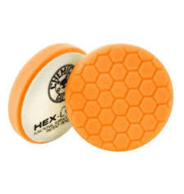 "Hex-Logic 4"" HEX-LOGIC PAD ORANGE MEDIUM-HEAVY CUT SCRATCH & SWIRL REMOVER Pad- (4""inch)"