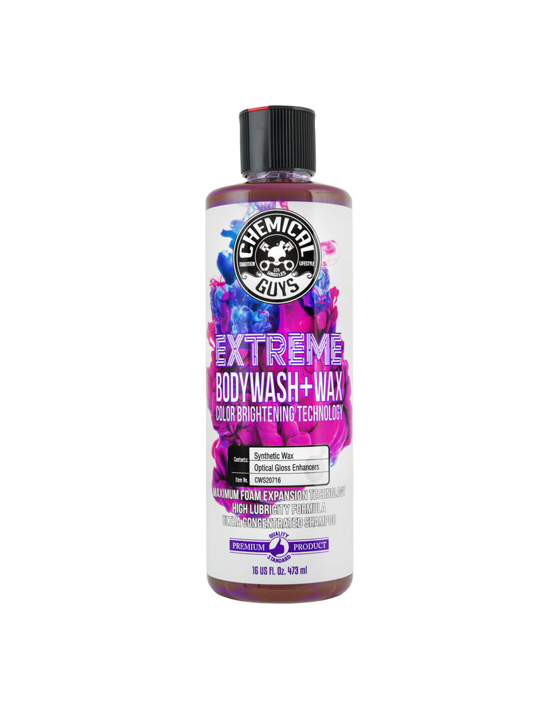 Extreme BodyWash and Wax Car Wash Soap (16oz)