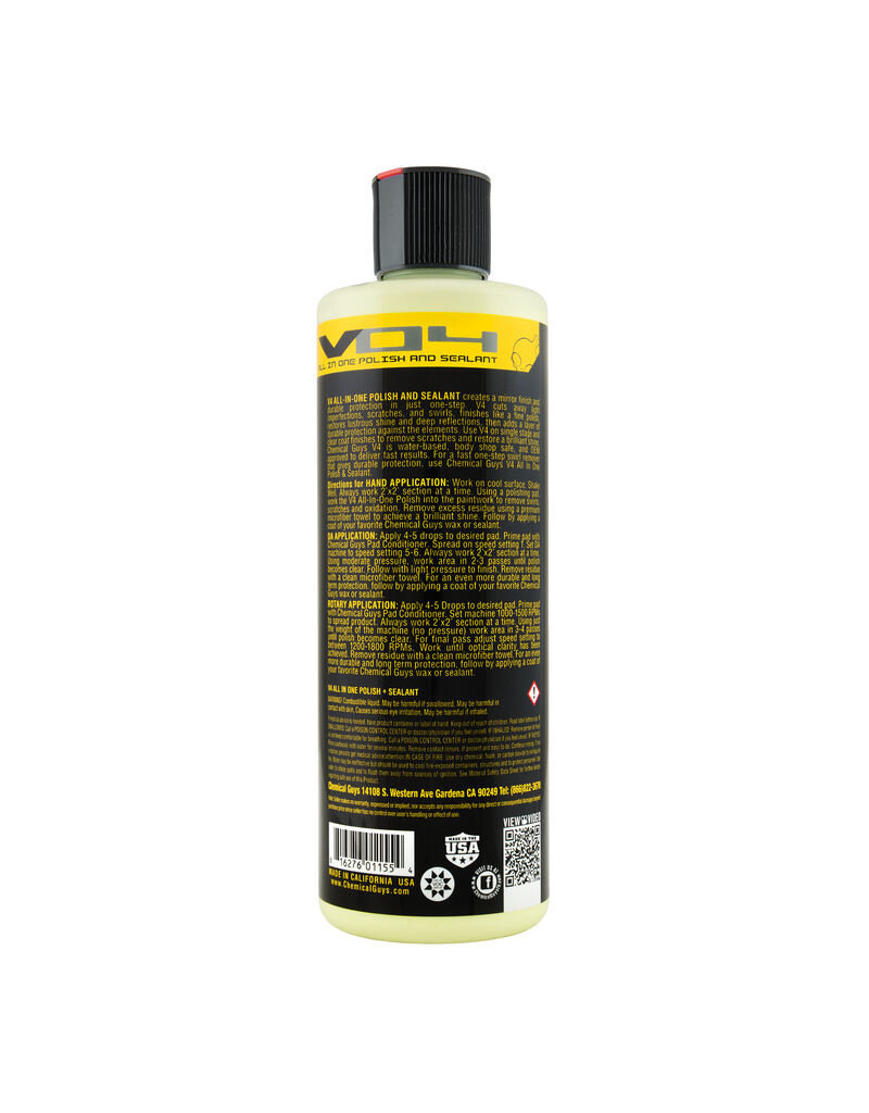 Chemical Guys V4 All-In-One Polish (16oz)