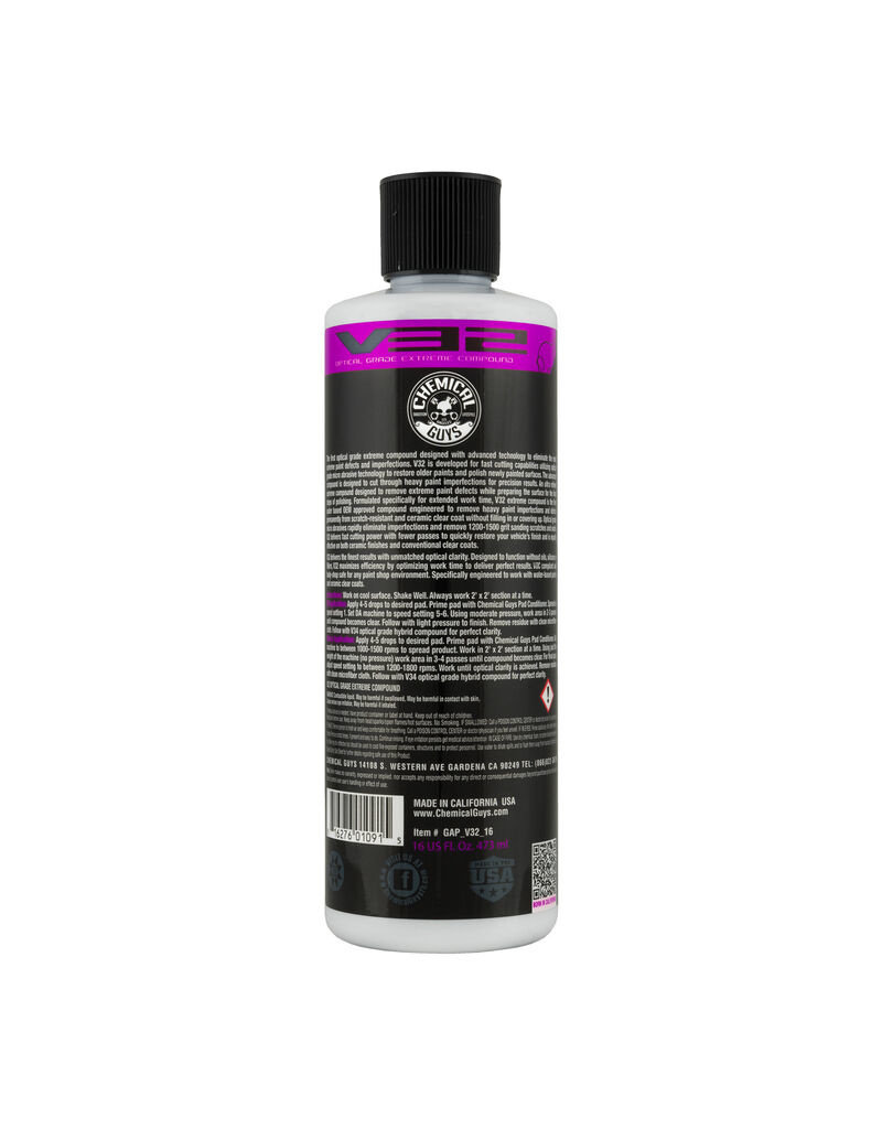 Chemical Guys V32 Optical Grade Extreme Compound (16oz)
