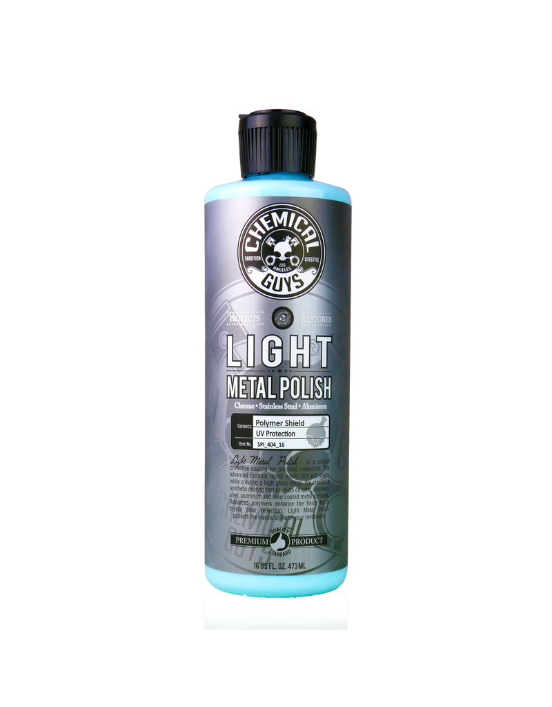 Chemical Guys Light Metal Polish (16oz)
