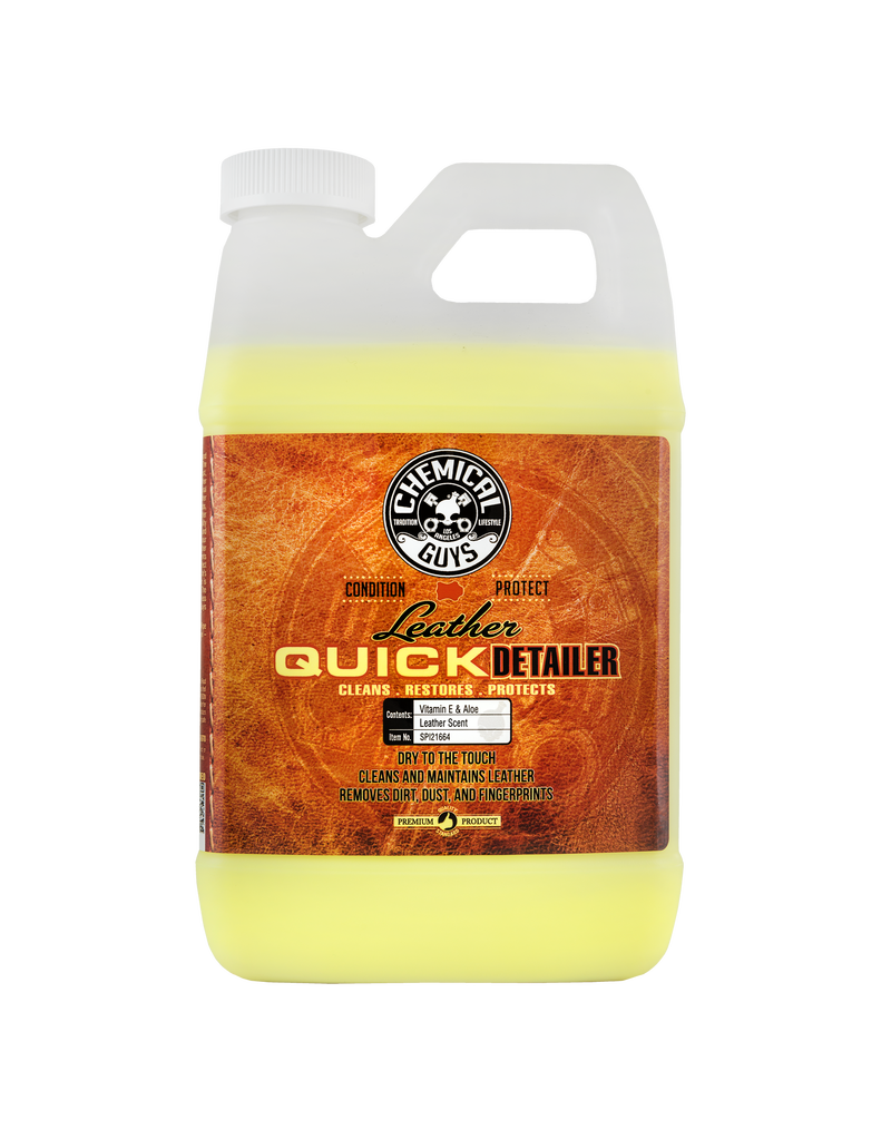 Chemical Guys Leather Quick Detailer (64 oz)