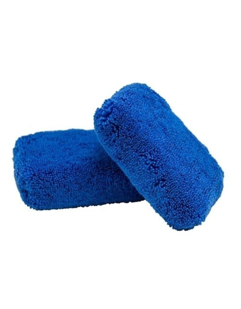 Chemical Guys Monster Fluff Plush Microfiber Applicator, Blue
