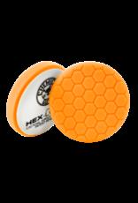 Hex-Logic 7.5'' HEX-LOGIC PAD ORANGE MEDIUM-HEAVY CUT SCRATCH & SWIRL REMOVER Pad- (7.5''inch)