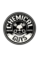 Chemical Guys Chemical Guys Logo Stickers, 8inch Die Cut Circle