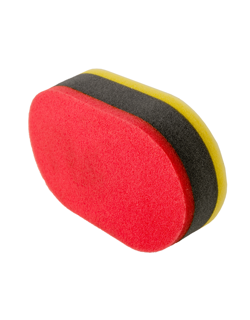 Chemical Guys Tri-Color Dual Purpose Applicator Pad