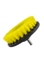 Chemical Guys Carpet Brush with Drill Attachment Medium Duty (Yellow)