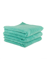 "Chemical Guys Workhorse Professional Microfiber Towel, Green 16"" x 16"" (3 Pack)"