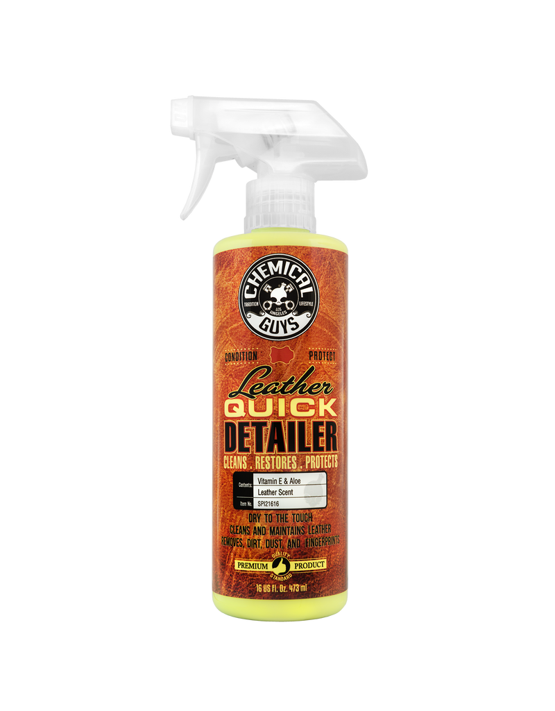 Chemical Guys Leather Quick Detailer (16 oz)