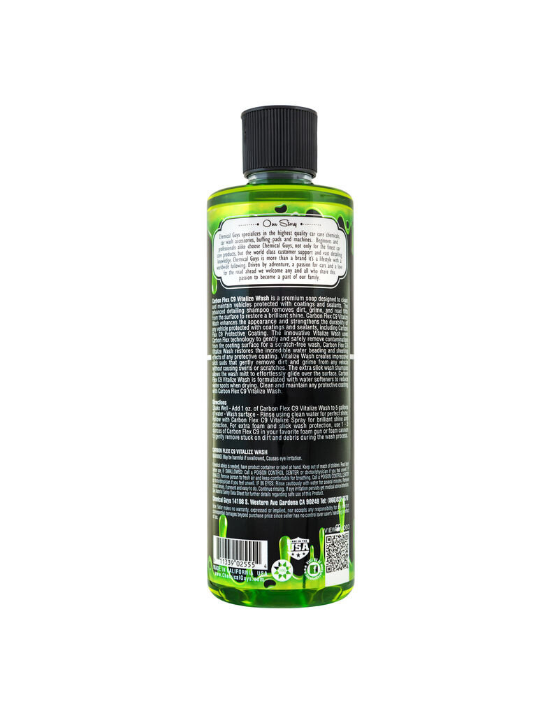 Chemical Guys Carbon Flex Vitalize Wash (16 oz)