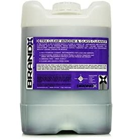 Brand-X Brand X-Tra Clean Window & Gass Cleaner (5 Gallons)