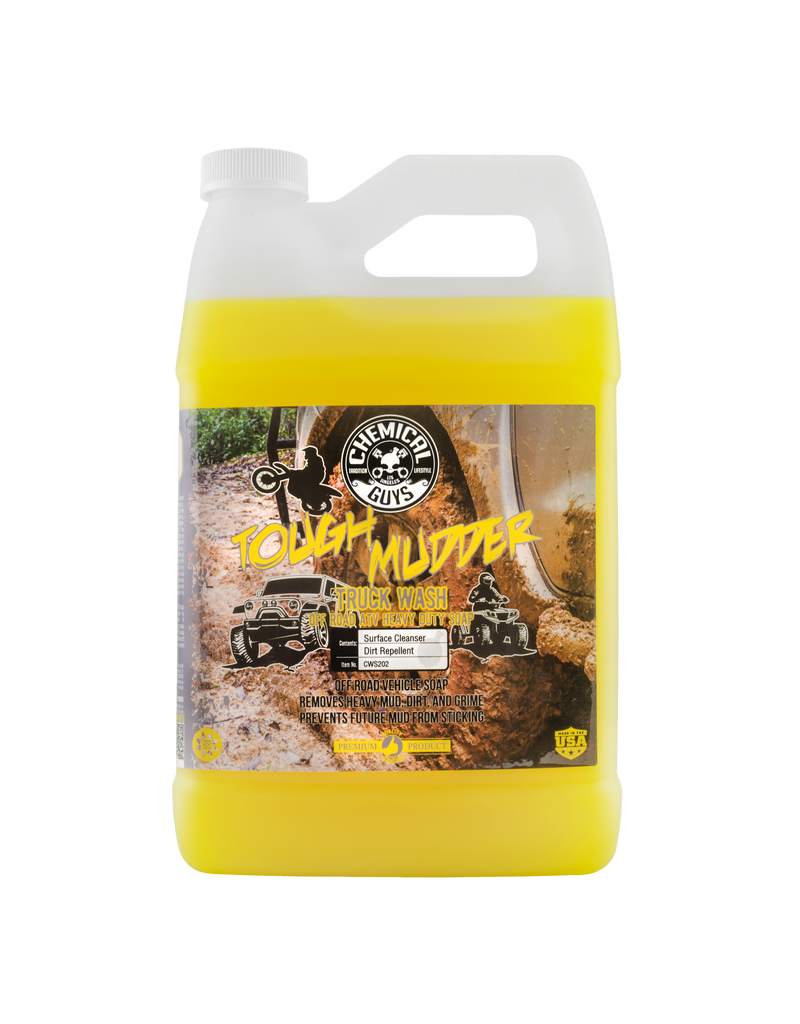 Chemical Guys Tough Mudder Truck Wash ATV Heavy Duty Soap (1Gal)