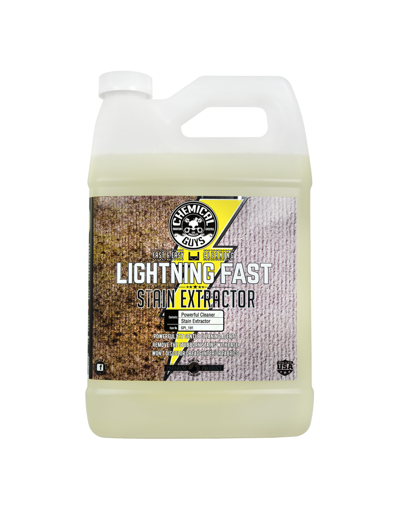 Chemical Guys Lightning Fast Stain Extractor for Fabric (1 Gal)