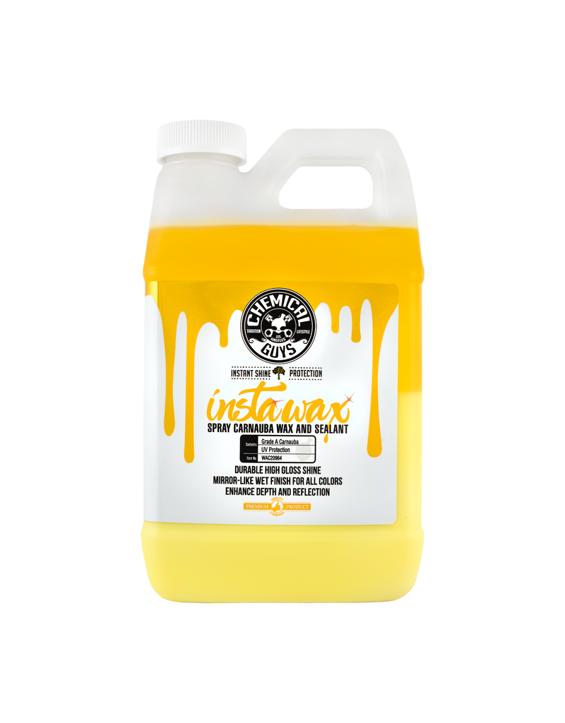 Chemical Guys InstaWax Liquid Carnauba Shine And Protection Spray (64oz)