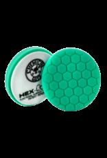 "Hex-Logic 6.5 "" HEX-LOGIC Pad GREEN LIGHT CUT-HEAVY POLISH MINOR SCRATCH & SWIRL REMOVER Pad- 6.5""inch)"
