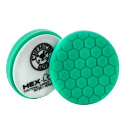 "Hex-Logic 6.5 "" HEX-LOGIC Pad GREEN LIGHT CUT-HEAVY POLISH MINOR SCRATCH & SWIRL REMOVER Pad- 6.5""inch)"
