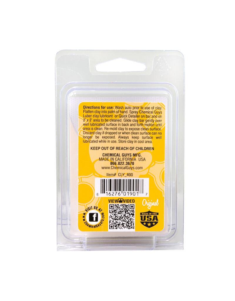 Chemical Guys OG Clay Bar (Light/Medium, Yellow)