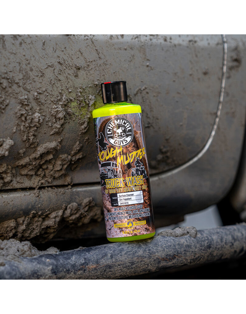 Chemical Guys Tough Mudder Truck Wash ATV Heavy Duty Soap (16oz)