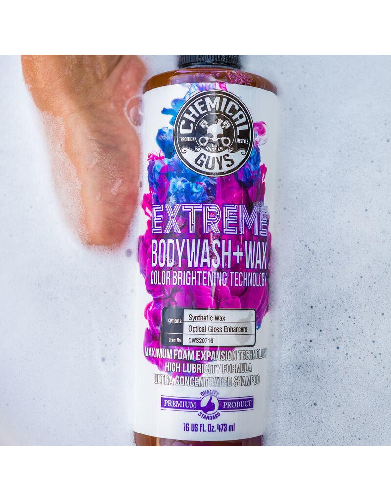 Extreme BodyWash and Wax Car Wash Soap (16oz)