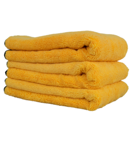 "Chemical Guys Professional Grade Microfiber Towel, Gold 16""x24"" (3 Pack)"
