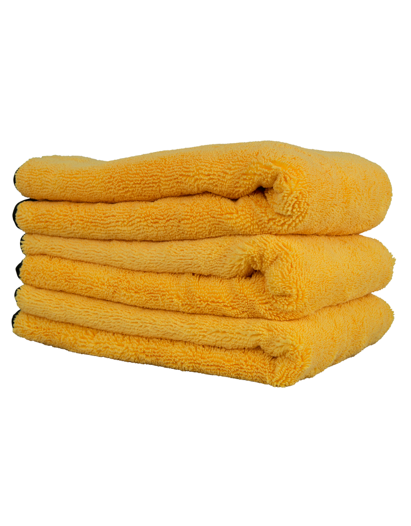"Chemical Guys Professional Grade Microfiber Towel, Gold 16""x24"" (3 Pack)"