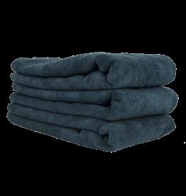"Chemical Guys Workhorse Professional Microfiber Towel, Black 16"" x 24"" (3 Pack)"