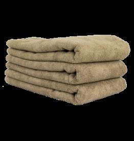 "Chemical Guys Workhorse Professional Microfiber Towel, Tan 16"" x 24"" (3 Pack)"
