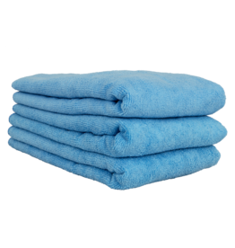"Chemical Guys Workhorse Professional Microfiber Towel, Blue 16"" x 24"" (3 Pack)"
