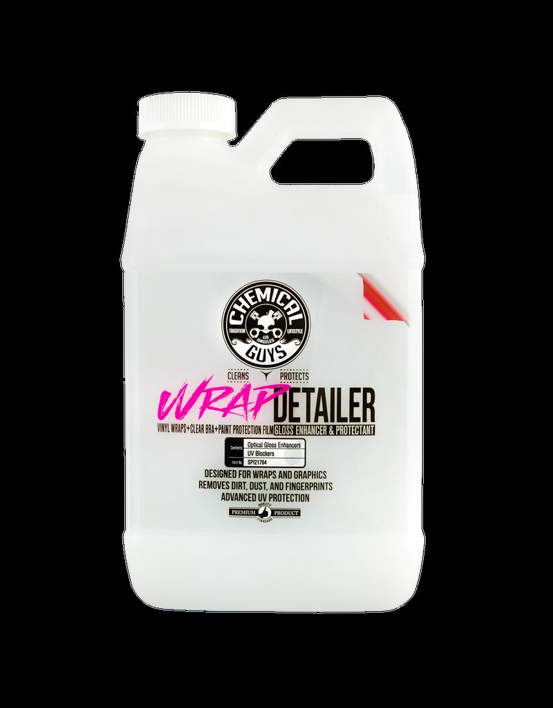 Chemical Guys Wrap Detailer Gloss Enhancer & Protectant For Vinyl Wraps (64oz)