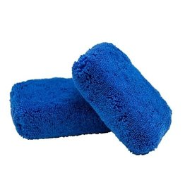 Chemical Guys Monster Fluff Plush Microfiber Applicator, Blue