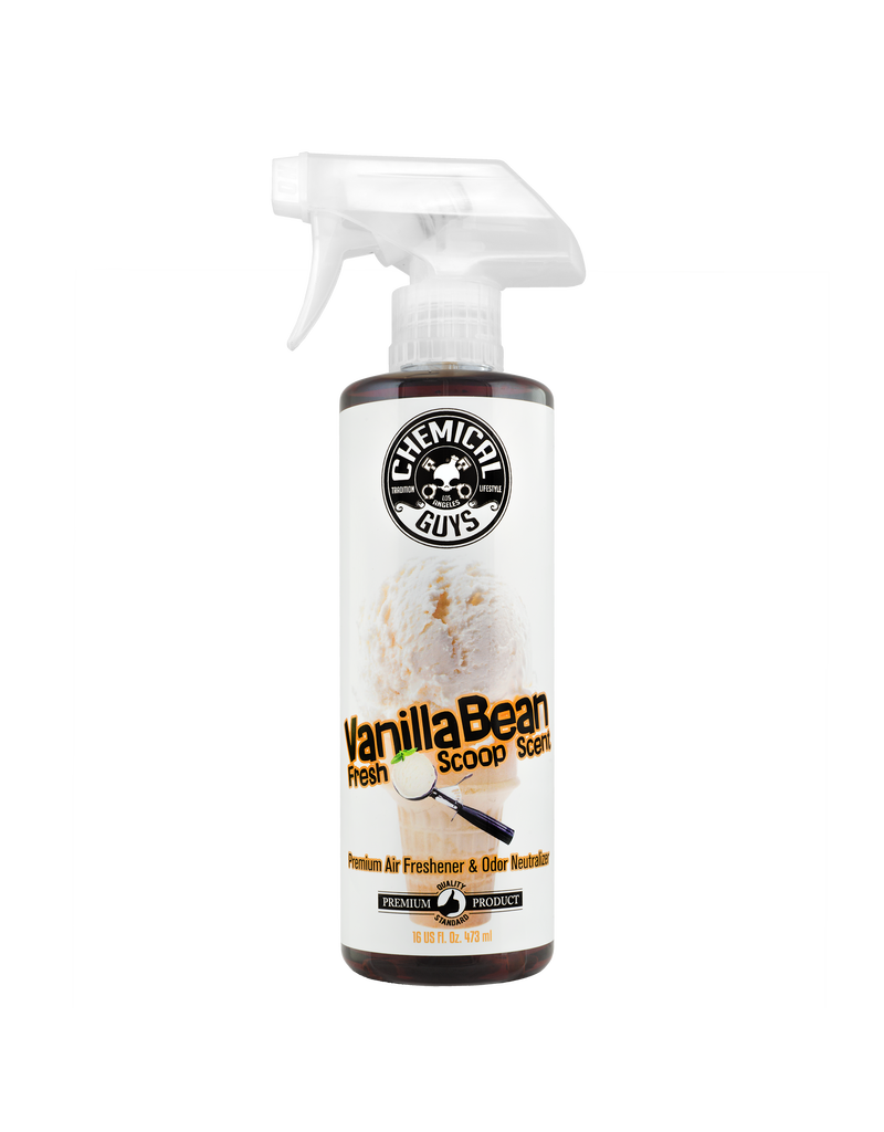 Chemical Guys Vanilla Bean Air Fresh Scoop Air Freshener (16oz)